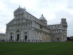 The Cathedral of Pisa...not a big city, but beautiful buildings to see!