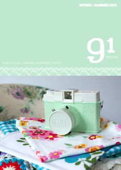 91 magazine spring-summer/2013 #craft #decor #design #interior #style #vintage #quaterly #free