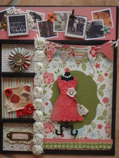 Stampin' Connection All Dressed Up Big Shot Die  great frame