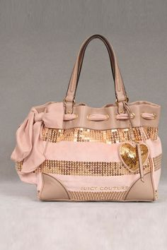 Juicy Couture Velour Sequin Stripe Daydreamer