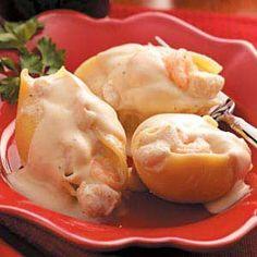 Seafood-Stuffed Shells