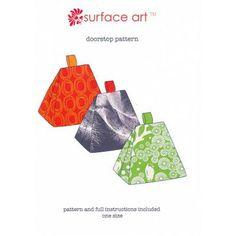 Surface Art Doorstop Pattern