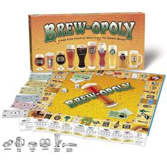 Brewopoly Board Game  Want