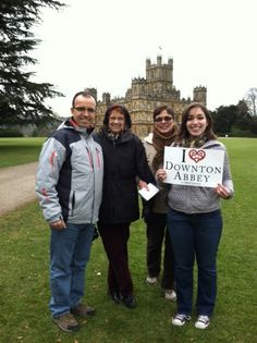 You can ALWAYS find Downton fans outside Downton Abbey.