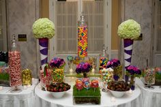 Awesome candy bar for wedding or party!