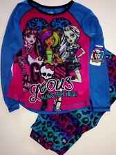 MONSTER HIGH GIRLS PAJAMAS SET NEW  with tags SIZE 7/8 Sleepwear New Style