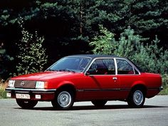 Opel Rekord Coupe (1977 – 1982).