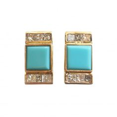 Square Turquoise and