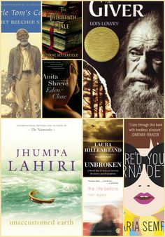 amazing list of books that are great for book club. So many books to read... so little time...