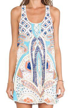 Parker Woodley Sequin Dress in Multi