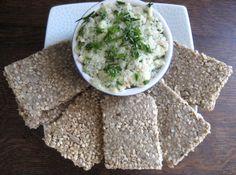 Sunflower Sesame Crackers with Shrimp Paté | Mark's Daily Apple