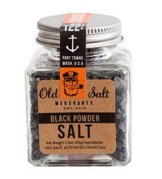 #Salt#package#design#blacksalt#foodie #anchor