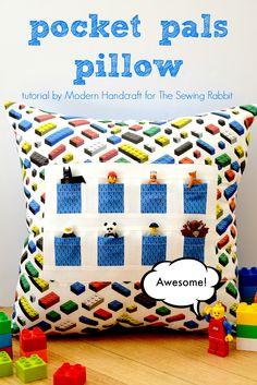 Pocket Pals Pillow – a Tutorial