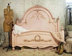 Pink French Bed