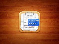 Bill Organizer iOS Icon by Umar Irshad