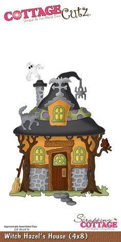 Cottage Cutz - Die - Witch Hazel's House