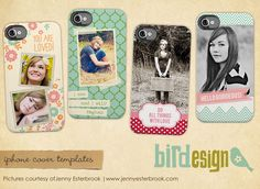 4 iPhone/iPod Cover Templates