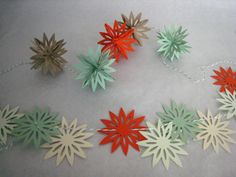 #spottedcanarycontest How to make garlands with paper punches