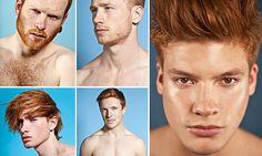 Rebranding redheads: Fashion photographer celebrates ginger men