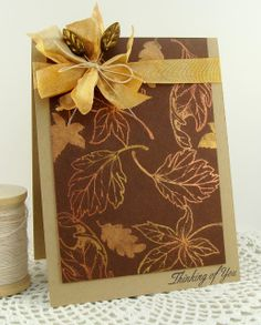 simply handmade by heather: Falling Leaves