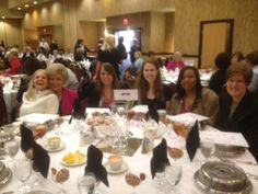 Some WTVA ladies at the Women of Distinction Luncheon.