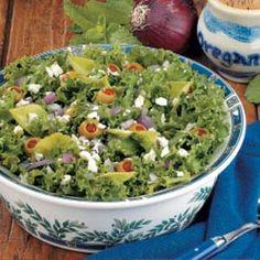 Curly Endive Salad Recipe http://pinterest.com/catholicspirit/lenten-meals/