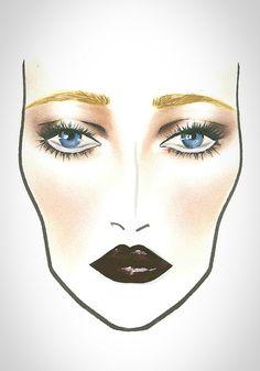 MAC Halloween Face Chart The great Gatsby
