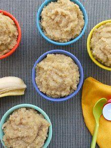 Banana Quinoa Rice Pudding from Weelicious