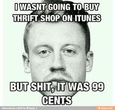 thrift shop...haha
