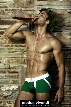 Modus Vivendi | Men's Underwear and Fashion: Retro Greece campaign lauches! Wingrower and Woodcutter underwear lines
