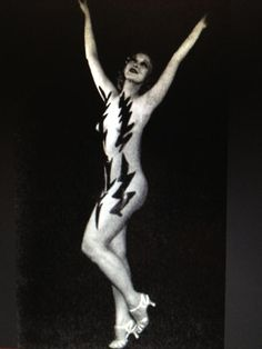 The bodypaint that got Sally Rand and Max Factor arrested at the 1933 World's Fair!