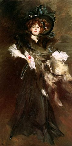 Miss Lantelme by Giovanni Boldini 1907 http://www.jssgallery.org/Other_Artists/Boldini_Giovanni/Miss_Lantelme.htm