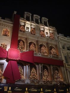 Christmas in Cartier London - Old Bond Street