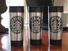 coffee lovers, teacher gifts, custom coffe, starbuck, silhouett cameo