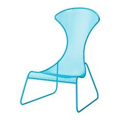 "IKEA PS 2012 easy chair, blue Width: 29 1/2 "" Depth: 33 1/8 "" Height: 44 1/8 "" Width: 75 cm Depth: 84 cm Height: 112 cm"