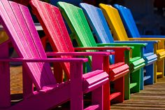 Colorful Chairs (Explore 5-12-11) (by Mark Chandler Photography)