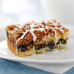 Blueberry Streusel Coffee Cake, a reader-favorite recipe!