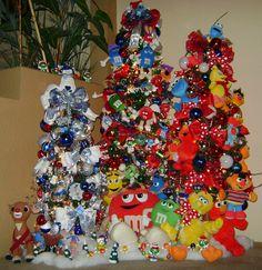 Navidad on pinterest navidad christmas villages and mesas - Decoracion de arboles navidenos ...