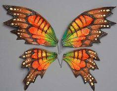 butterfli, fairy doll wings, tutorials, craft, fairi wing, wing tutori, wire wings, butterfly wings, antiques