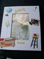 Teacher gift photo frame