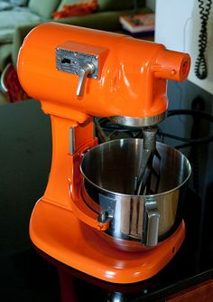 I have the kitchenaid mixer in this color