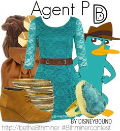 Disney Bound - Agent P (Phineas and Ferb)