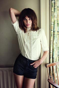 British model Alexa Chung