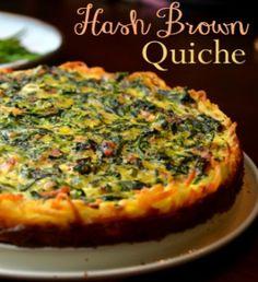 Hash Brown Quiche