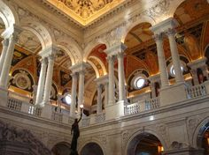 Library of Congress, Washington DC  Patriotic Road Trip