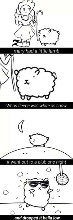 Mary had a little lamb.