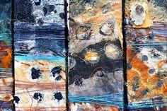 Shelley Rhodes, textile art / mixed media