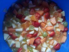 Summer fruitsalad....my kids love it.