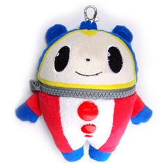 A Teddie plush that actually unzips so you can put stuff in it? I need this in my life. Kuma Plush Pass Case ~ Persona 4