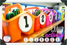 Smooth Sailing Back to School Tips -- Read this post to learn more about ways to organize your classroom this school year!